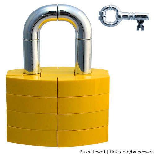 LEGO Lock and Key