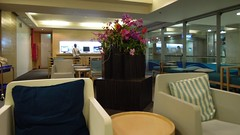 Bangkok Airways Economy Lounge, Suvarnabhumi Airport, Bangkok
