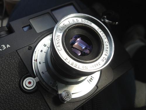Canon 50mmf3.5 type II