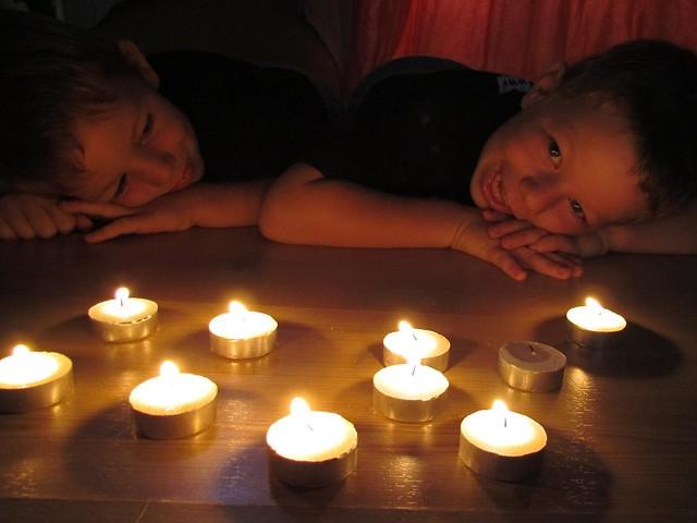 Earth Hour a la maison