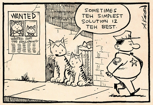 Laugh-Out-Loud Cats #1948 by Ape Lad