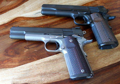 S&W Pro Series 9mm 1911's w/ Custom Work by Pete Single