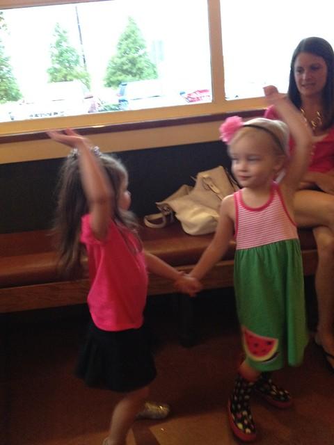 kinley & eden dancing
