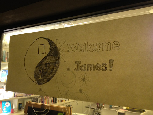 Welcoming CoderDojo's James