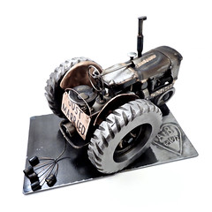 Tractor Sculpture Wedding Gift