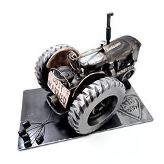 Tractor Sculpture Wedding Gift