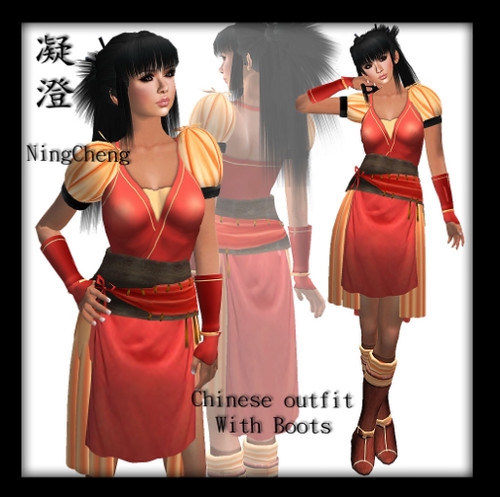 (Charming) Chinese Outfit - NingCheng