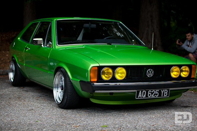 VW Scirocco mk1 - Worthersee 2012 Pyramid Kugel