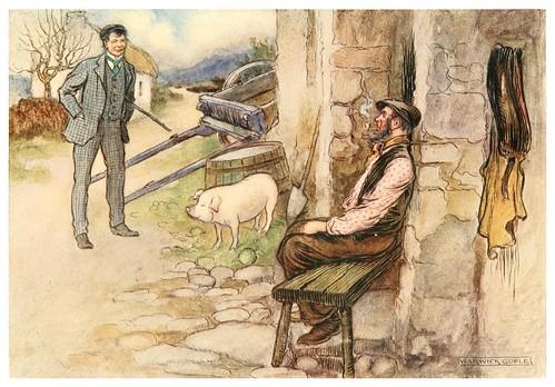 010-Una transferencia-Irish ways-1909-ilustraciones de Warwick Goble