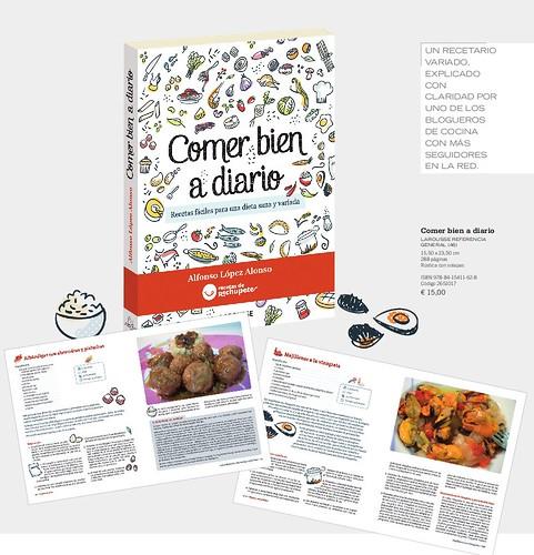 Libro Comer bien a Diario de Alfonso López