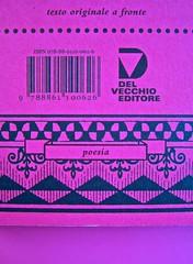A Vinci, [...], di Morten Søndergaard. Del Vecchio edizioni 2013. Art direction, cover, logo: IFIX. Quarta di copertina (part.), 3