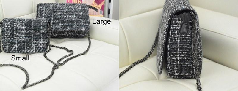 BA2 Tweed Sling Bag