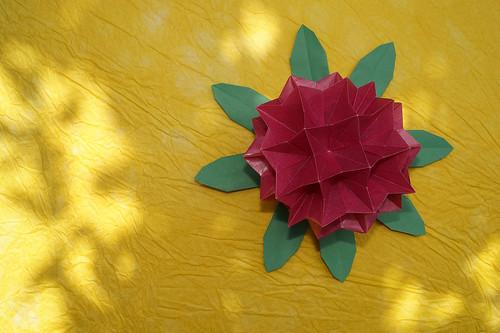 Origami Rhododendron (Toshikazu Kawasaki)