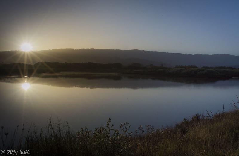 159-365 Arcata Sunrise Reflection-1