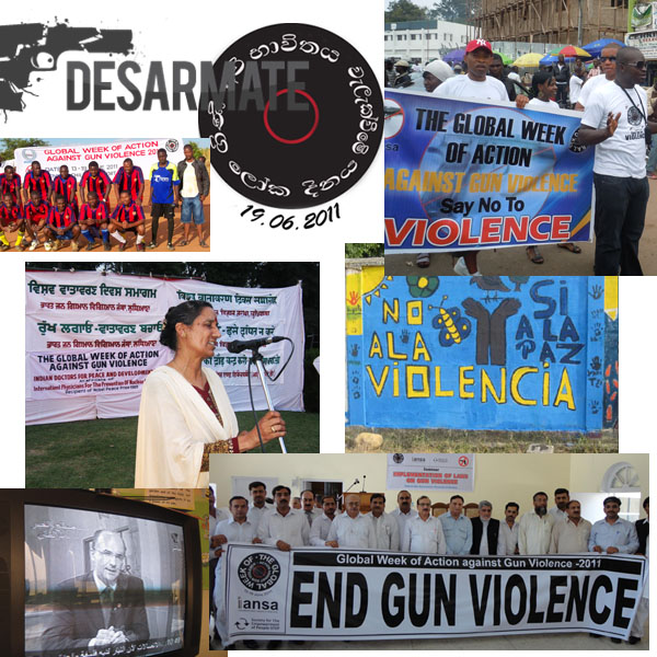 Week of Action Against Gun Violence 2011 - Monday 20 Montage copy