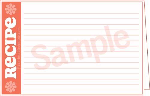 4x6 index card divider template builderfreeware. Black Bedroom Furniture Sets. Home Design Ideas