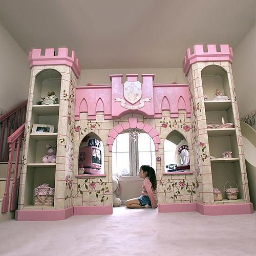 Dormitorios infantiles camas castillos literas oferta bs 19900 0 mueblesdeksa - Casitas de princesas ...