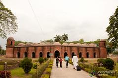 UNESCO's Shait Gumbad Mosque - Bagerhat, Bangladesh