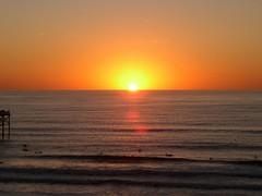 Sunset in Mission Beach, San Diego CA