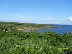 尚未遭受開發破壞的基翬海岸 (照片提供:鍾家榮 )