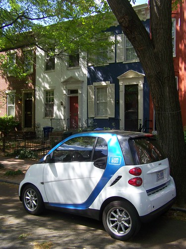 Car2Go on Capitol Hill