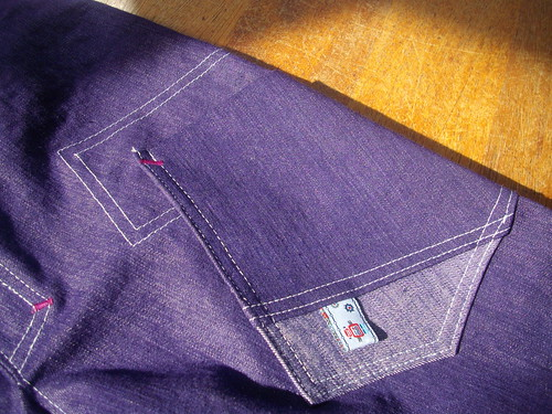 Denim pants, pocket detail by oddwise