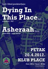 Dying In This Place  Asheerah rijeka