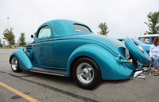 1936 ford 3 window coupe street rod 5 of 5 for 1936 ford 3 window