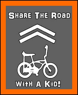 share the road with a Kid