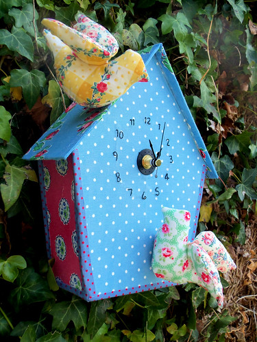 Birdhouse Clock (3)