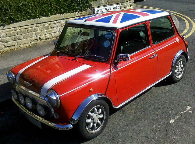 union jack mini cooper very british by pentaxo san. Black Bedroom Furniture Sets. Home Design Ideas