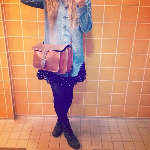 #outfit #me #today #denim #boots #toilet #xd
