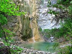 Pont de Peïra Waterfall
