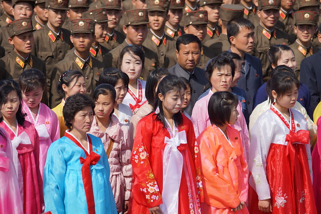 Pyongyang 100th Year Kim Il Sung Birthday Celebrations - Martyrs' Cemetery
