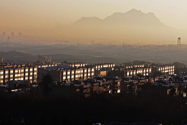 Sunset in Esfihan, Iran