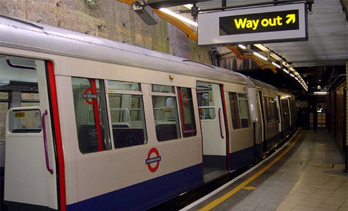 London Tube: El Metro Subterraneo de Londres