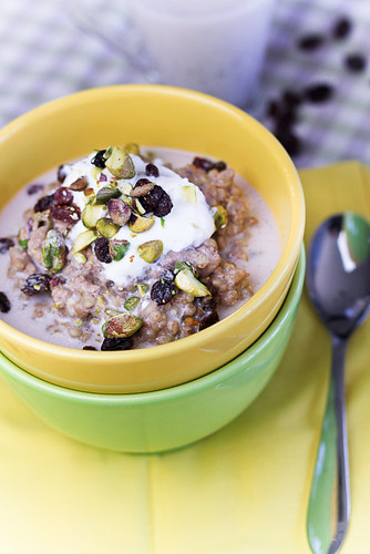 Breakfast Buckwheat Pudding