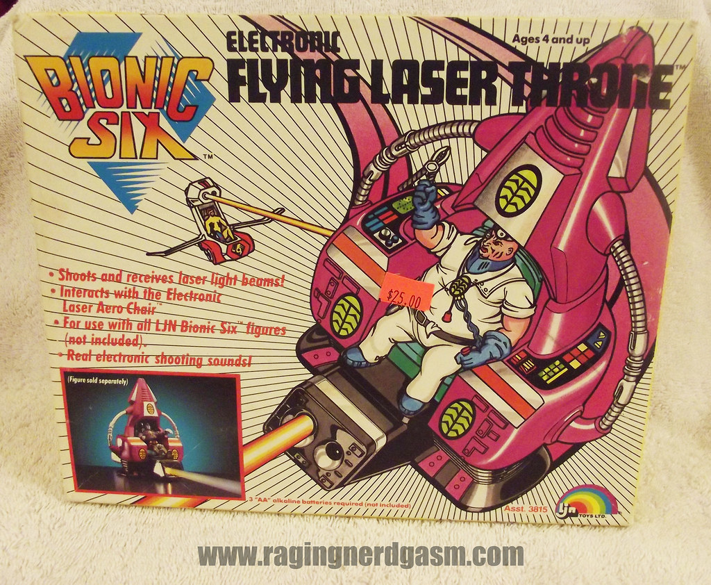 Flying Laser Throne from Bionic Six by LJN