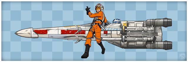 Luke Racer Print