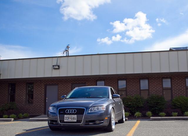 "19"" Audi B7 ST8 Wheels"