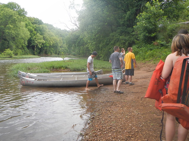 Red River Canoe Trip 2012