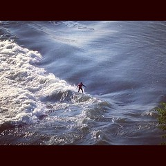 A little ways off from old Montreal. Yesterday was International Surfing Day. Posting a day late.