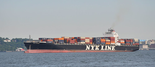 Container Ship NYK RUMINA