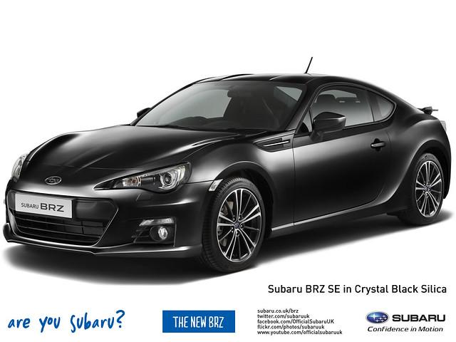 Subaru BRZ in Crystal Black Silica | Flickr - Photo Sharing!