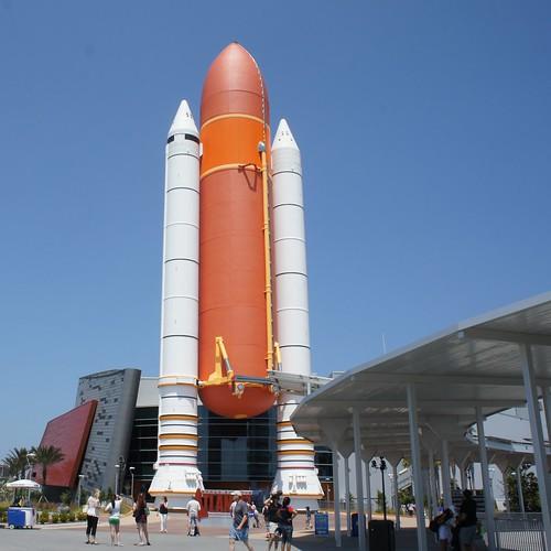 KSCVC Atlantis ET/SRB stack