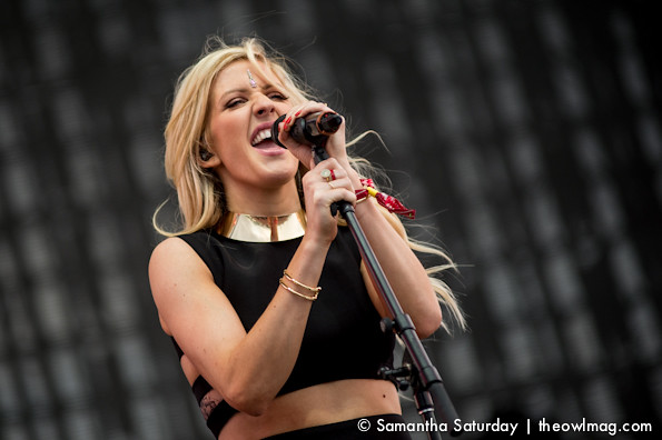 Ellie Goulding @ Coachella 2014 Weekend 2 - Friday
