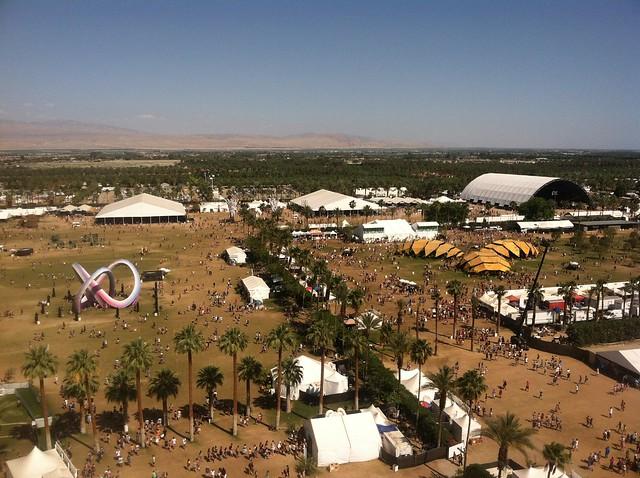 Coachella field