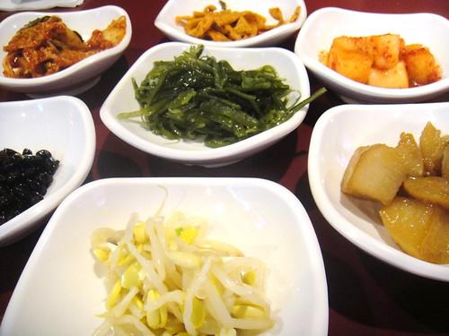 banchan from Lim Ga Ne