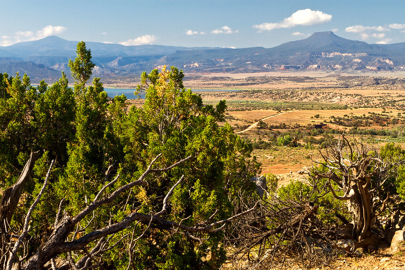 Scenic view near the village of Abiquiu, which was a recent participant in the Grant Writing Assistance Program.