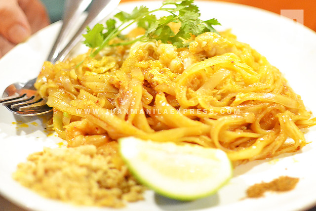 PAD THAI. Noodles is perfectly cooked and mixed with right ingredients.